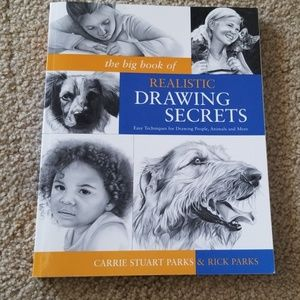 The Big Book of Realistic Drawing Secrets-Parks...